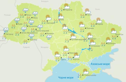 Облачная иснежная погода ожидается вНижегородской области вближайшие дни